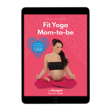 Fit Yoga Mom-to-be