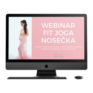Webinar Fit joga nosečka