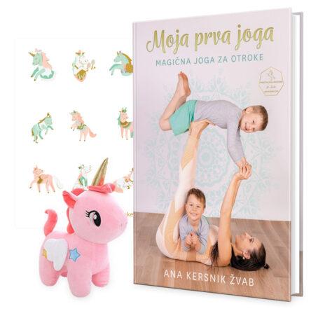 Knjiga Moja prva joga – magična joga za otroke