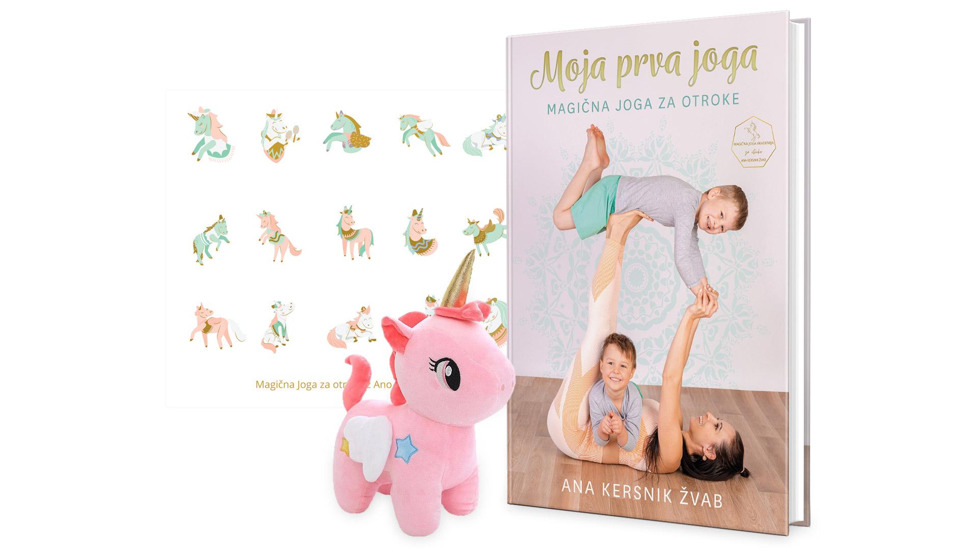 Moja prva joga – magična joge za otroke